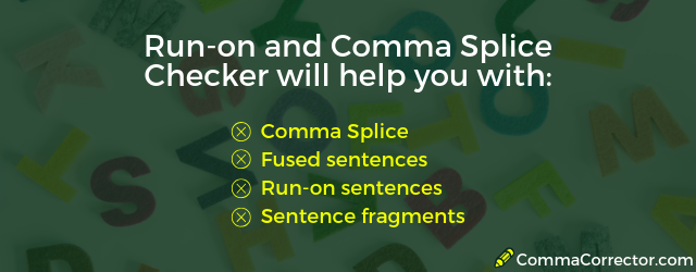 comma splice checker online free